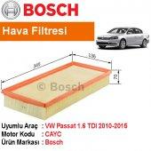 Vw Passat 1.6 Tdı Hava Filtresi 2010 2015 Bosch