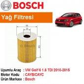 Vw Golf 6 1.6 Tdı Yağ Filtresi 2010 2015 Bosch