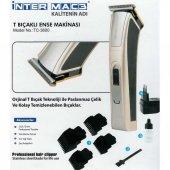 Inter Mac3 Tc 3600 Saç Ve Sakal Traş Makinesi