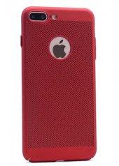 Apple iPhone 7 Kılıf Delikli Rubber Kapak Arka Koruma-4