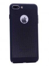 Apple iPhone 7 Kılıf Delikli Rubber Kapak Arka Koruma-6