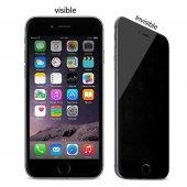 Apple iPhone 7 Plus 5D Privacy Cam Ekran Koruyucu