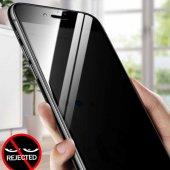 Apple iPhone 7 Plus 5D Privacy Cam Ekran Koruyucu-5
