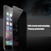 Apple iPhone 7 Plus 5D Privacy Cam Ekran Koruyucu-7