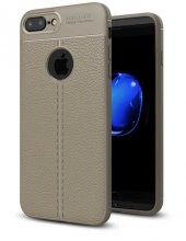 Apple İphone 8 Plus Kılıf Lopard Nish Silikon Kapak Arka Koruma
