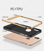 Apple iPhone X Kılıf Standlı Verus Arka Kapak-4