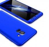 Samsung Galaxy A8 Plus 2018 Kılıf Lopard 360 � Full Koruma Ays Kapak