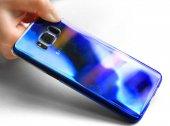Samsung Galaxy S8 Kılıf Lopard Renkli Transparan Arka Kapak Gökkuşağı-6