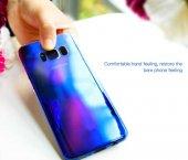 Samsung Galaxy S8 Kılıf Lopard Renkli Transparan Arka Kapak Gökkuşağı-7