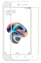 Xiaomi Mi 5x Kenarları Kırılmaya Dayanıklı Cam Ekran Koruyucu
