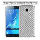 Samsung Galaxy J5 2016 Kılıf Lopard Karbon Silikon Kapak Arka Koruma-4