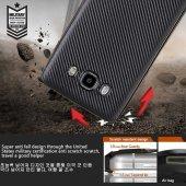 Samsung Galaxy J5 2016 Kılıf Lopard Karbon Silikon Kapak Arka Koruma-5