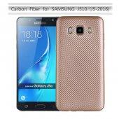 Samsung Galaxy J5 2016 Kılıf Lopard Karbon Silikon Kapak Arka Koruma-7