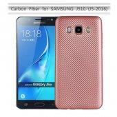 Samsung Galaxy J5 2016 Kılıf Lopard Karbon Silikon Kapak Arka Koruma-8