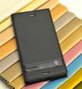 Sony Xperia Xa Kılıf Lopard Elite Kapaklı Kılıf Ön Arka Full Koruma