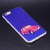 Apple iPhone 6 Kılıf Lopard Fani Silikon Kapak-3