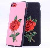 Apple iPhone 7 Kılıf Lopard Rose Kapak Arka Koruma Kabı-3