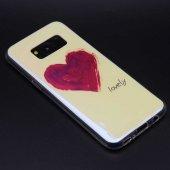 Samsung Galaxy S8 Kılıf Lopard Fani Silikon Kapak