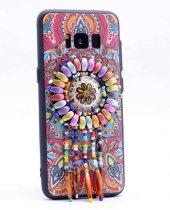 Samsung Galaxy S8 Kılıf Lopard Halhal Silikon Kapak-3
