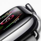 Apple Watch 44 mm Full Yapışkanlı Cam Ekran Koruyucu-3
