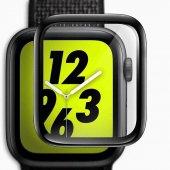 Apple Watch 44 mm Full Yapışkanlı Cam Ekran Koruyucu-5