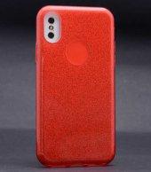 Apple iPhone X Kılıf Lopard Shining Silikon Arka Kapak-8