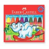 Faber Castell Karton Kutu Pastel Boya 8 Renk
