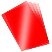 Asetat Kağıdı Şeffaf Kırmızı 250 Mikron 35x50...