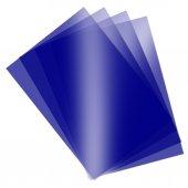 Asetat Kağıdı Şeffaf Mavi 250 Mikron A4 İnce 5...