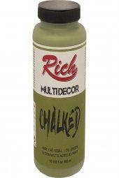 Rich Multi Dekor Chalked Boya 4568 Yağ Yeşili...