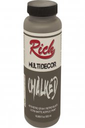 Rich Multi Dekor Chalked Boya 4578 Retro Siyah...