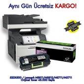 52dx500 Lexmark Ms811 Ms812 Ms711 Mx711 Orijinal Toner 45.000 S