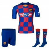 Barselona Messi Forma Şort Ve Tozluk