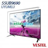 VESTEL 55UB9690 TV EKRAN KORUYUCU / EKRAN KORUMA CAMI Etiasglass