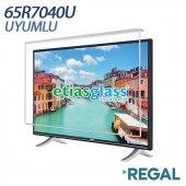 REGAL 65R7040U TV EKRAN KORUYUCU / EKRAN KORUMA CAMI Etiasglass
