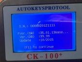 CK-100 Araç Anahtar Kodlama Cihazı, V15.02-3
