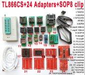 TL866 Plus Üniversal USB Programlayıcı Set, Xgecu Minipro Set