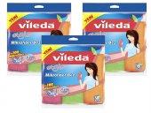Vileda Style 3lü Mikrofiber Temizlik Bezi 3 Set
