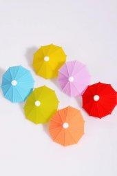 şemsiye 6lı Bardak İşaretleyici