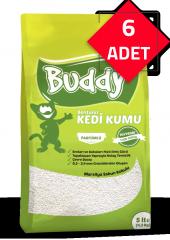 Buddy Bentonit Sabun Kokulu Kedi Kumu 30lt (5lt� 6adet)