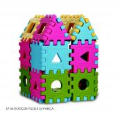 Lp 5010 King Kids Eğitici Küçük Puzzle 24 Parça