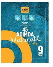 Isabet 9.sınıf 45 Adımda Matematik 2