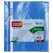 Cassa Plastik Telli Dosya Mavi 50li 10 Paket (500 Adet)