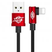 Baseus Mvp Elbow Type Kablo Usb İphone 1,5a 2m Kırmızı