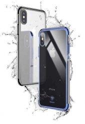 Baseus Minju Kılıf İphone X Mavi