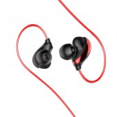 Baseus Encok Kablolu Kulaklık H05 Kırmızı