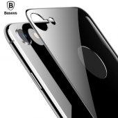 Baseus 4d Arcback İphone 8 Arka Cam Koruyucu Space Gray
