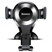 Baseus Osculum Type Gravity Araç Tutucu Siyah+gümüş