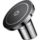 Baseus Big Ears Araç Tutucu Kablosuz Şarj Siyah