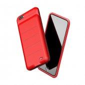 Baseus Ample Backpack Kılıf 3600mah İphone 6plus Kırmızı